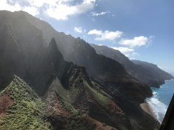 Na Pali Coast from above