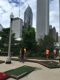 Mini golf in Chicago