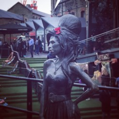Amy Winehouse Statue, Camden