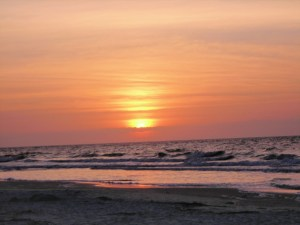 There's something magical about watching the Sun rise up from the ocean horizon.
