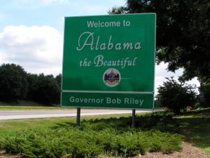 Welcome to Alabama.