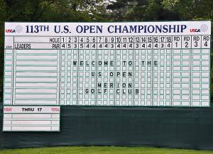 We can all dream of having our name atop the leader board one day.