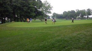 Though he didn't stick around for the weekend, it was really fun to watch John Daly do his thing at Valhalla.