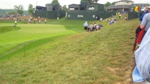 The natural amphitheaters at Valhalla are a real treat for the fans.