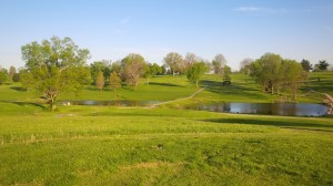 The 18th hole is a beautiful golf hole, equal parts scenery and challenge; a great way to end a round.