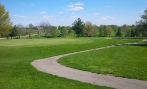 Navigating the gentle contours of the green complexes was pretty straight-forward.