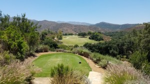 With this kind of view from the 18th tee, you kind of forget how many over par you are at Maderas.