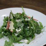 Arugula and Apple Salad with Lemon Vinaigrette