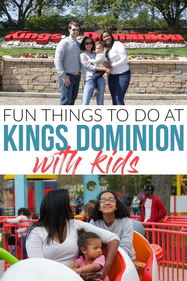 Family fun at kings dominion va.