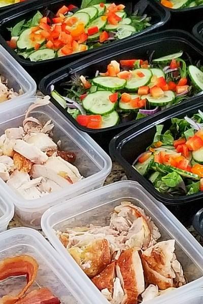 Keto meal prep for beginners.