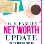 Our family net worth increased $80,000 in just one year.