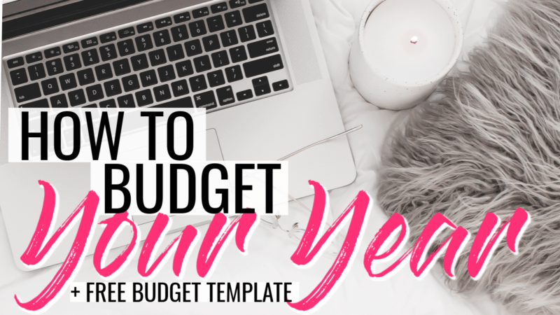 This one year budget step by step teaches how to make a budget