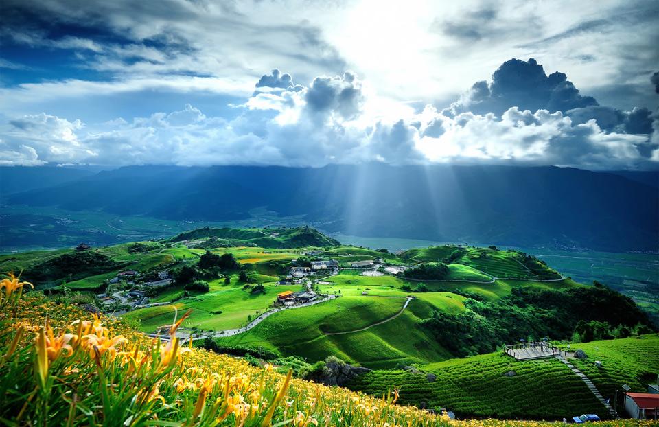 Beautiful Taiwan Landscape Photo One Big Photo