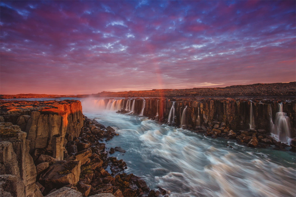 Fall Free Wallpaper Cave Selfoss The Most Powerful Waterfall Of Europe Iceland