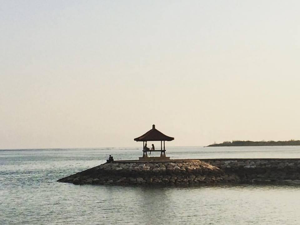 Views at Sanur Beach Bali
