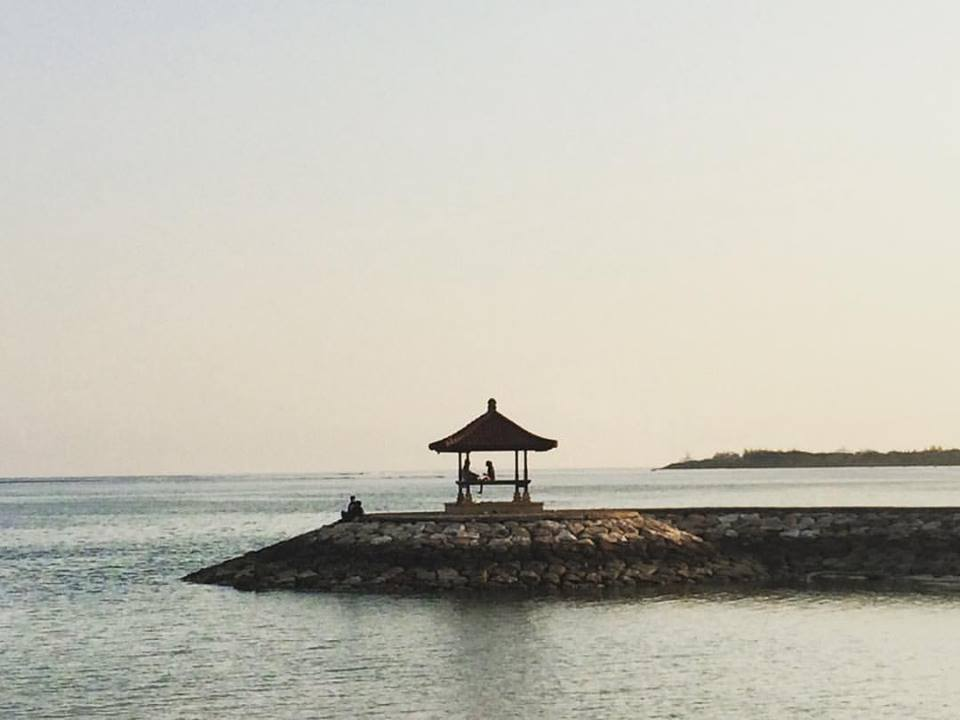 Views at Sanur Beach Bali