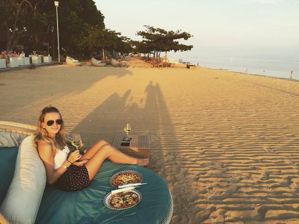 Dinner on Sanur Beach, Bali