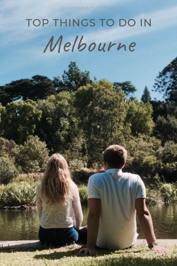 Best activities in Melbourne Australia pin