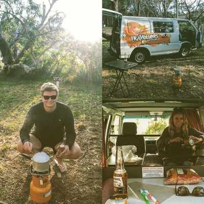 Camping Life in Australia