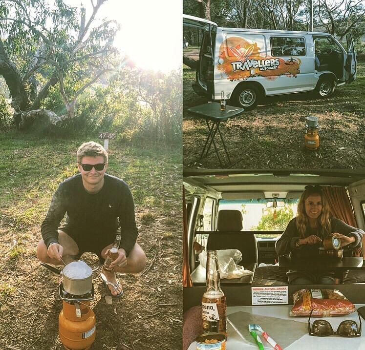 Camping Life in Australia