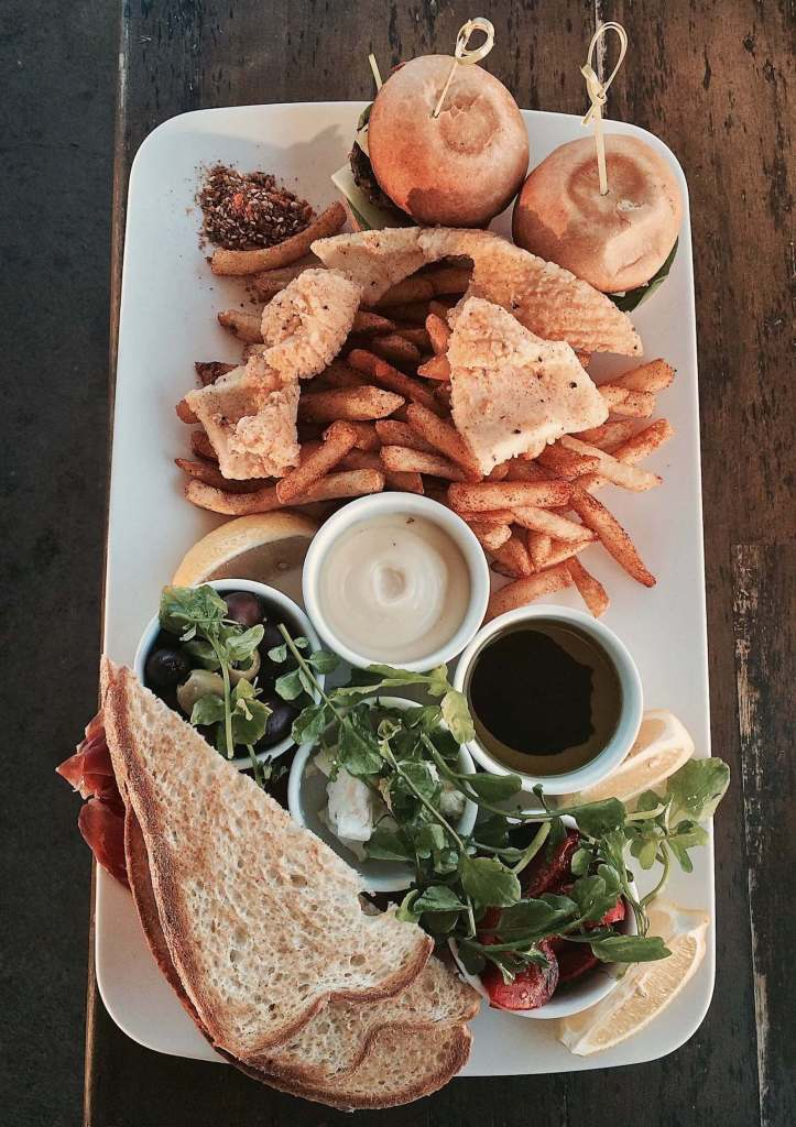 Bulli Beach Cafe Sharing Platter Wollongong