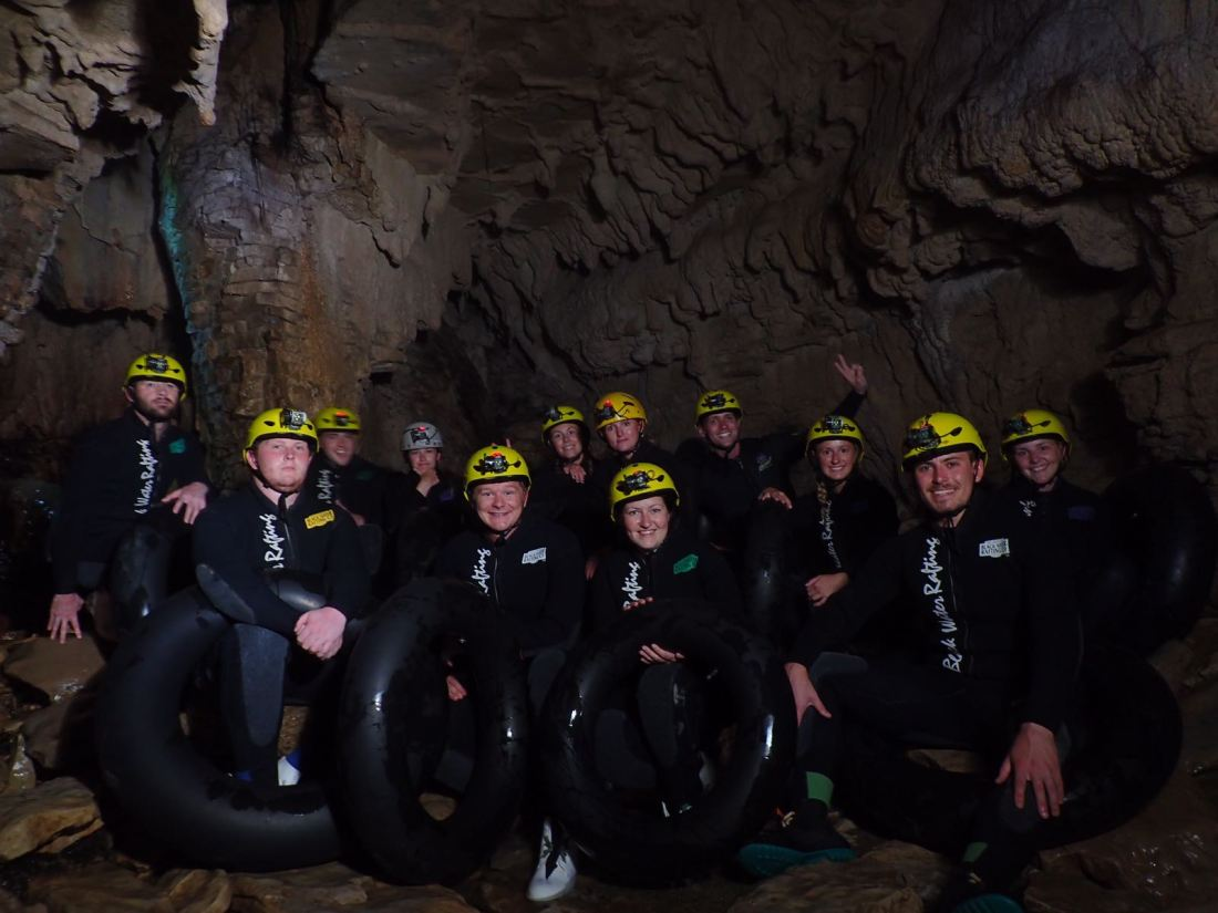 Waitomo Black Labyrinth Caving Experience