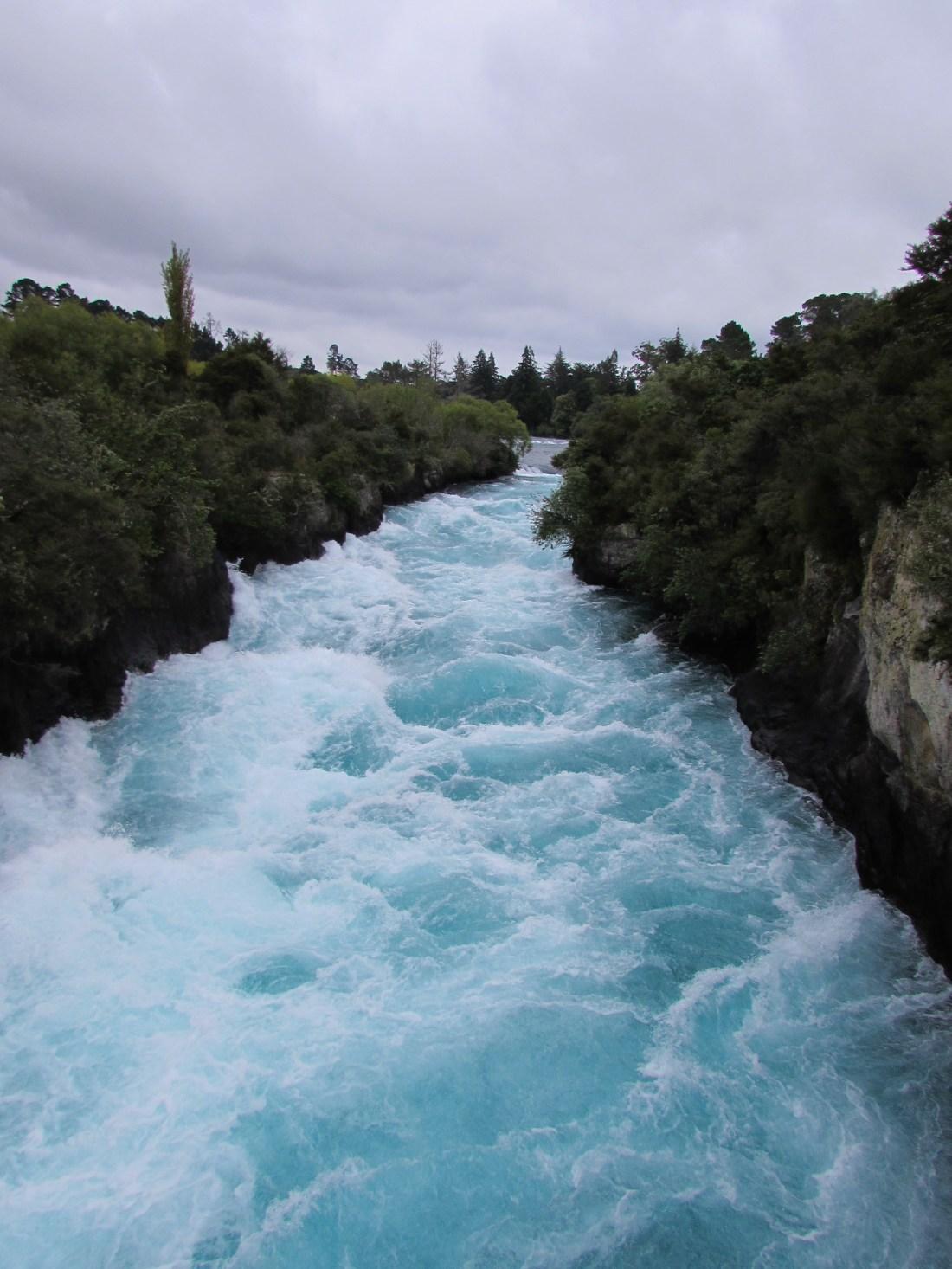 Huka Falls Taupo, New Zealand