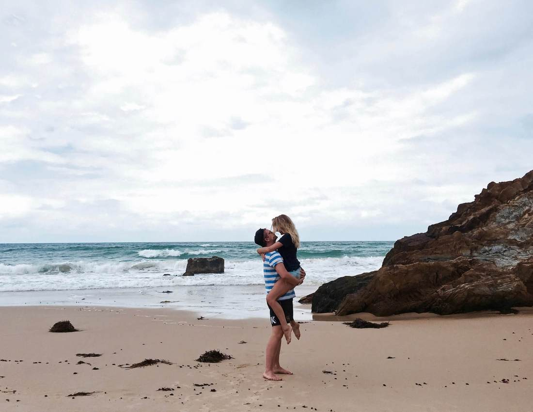 Couple in Mallacoota Australia
