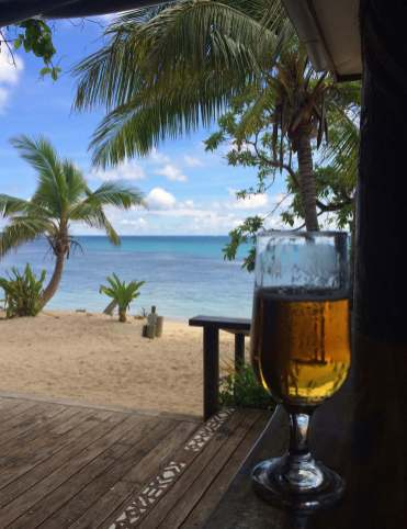 Beers and Fiji View