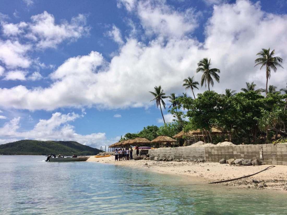 Boat to Nanuya Island Resort Fiji