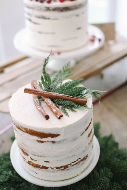 cinnamon wedding cake