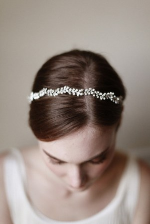crystal bridal circlet