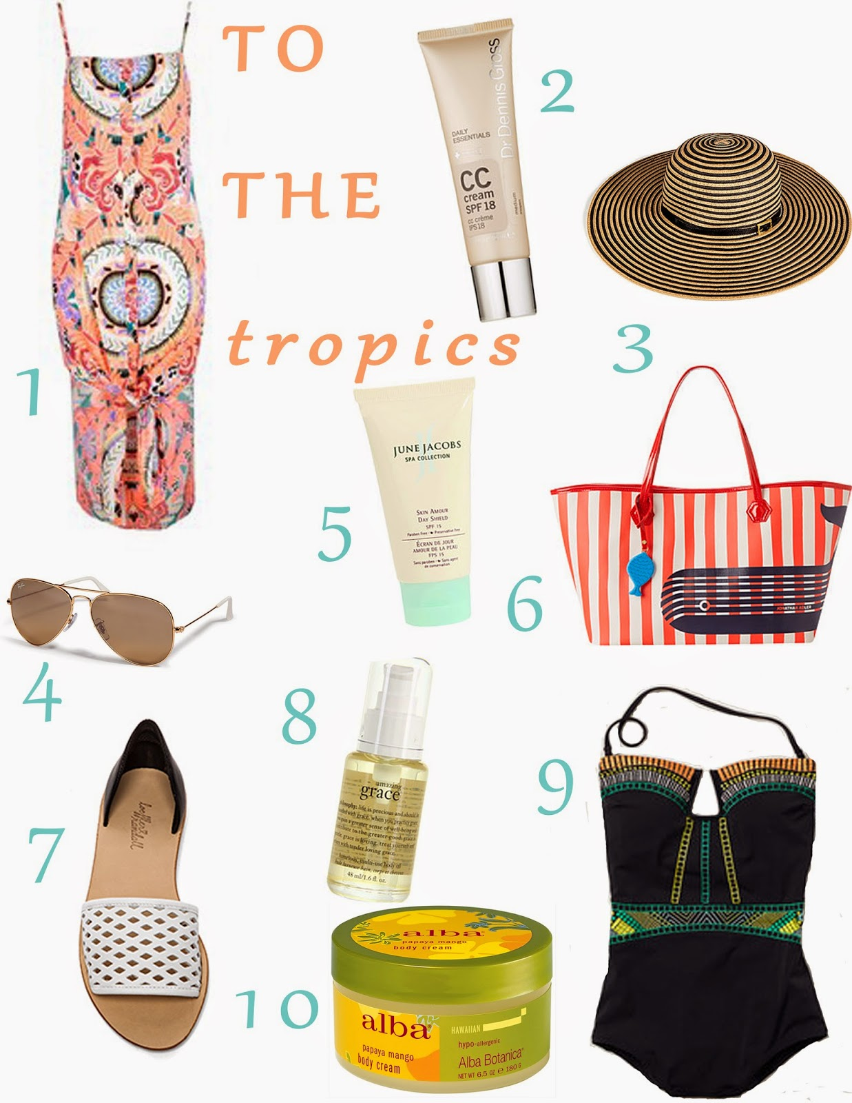 Tropic Vacation Essentials One Brass Fox