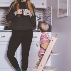 Tripp Trapp High Chair Tall Chairs For Standing Desks Stokke Starting Solids One Brass Fox Sharing Our Review As A Modern Chic That Grows With The