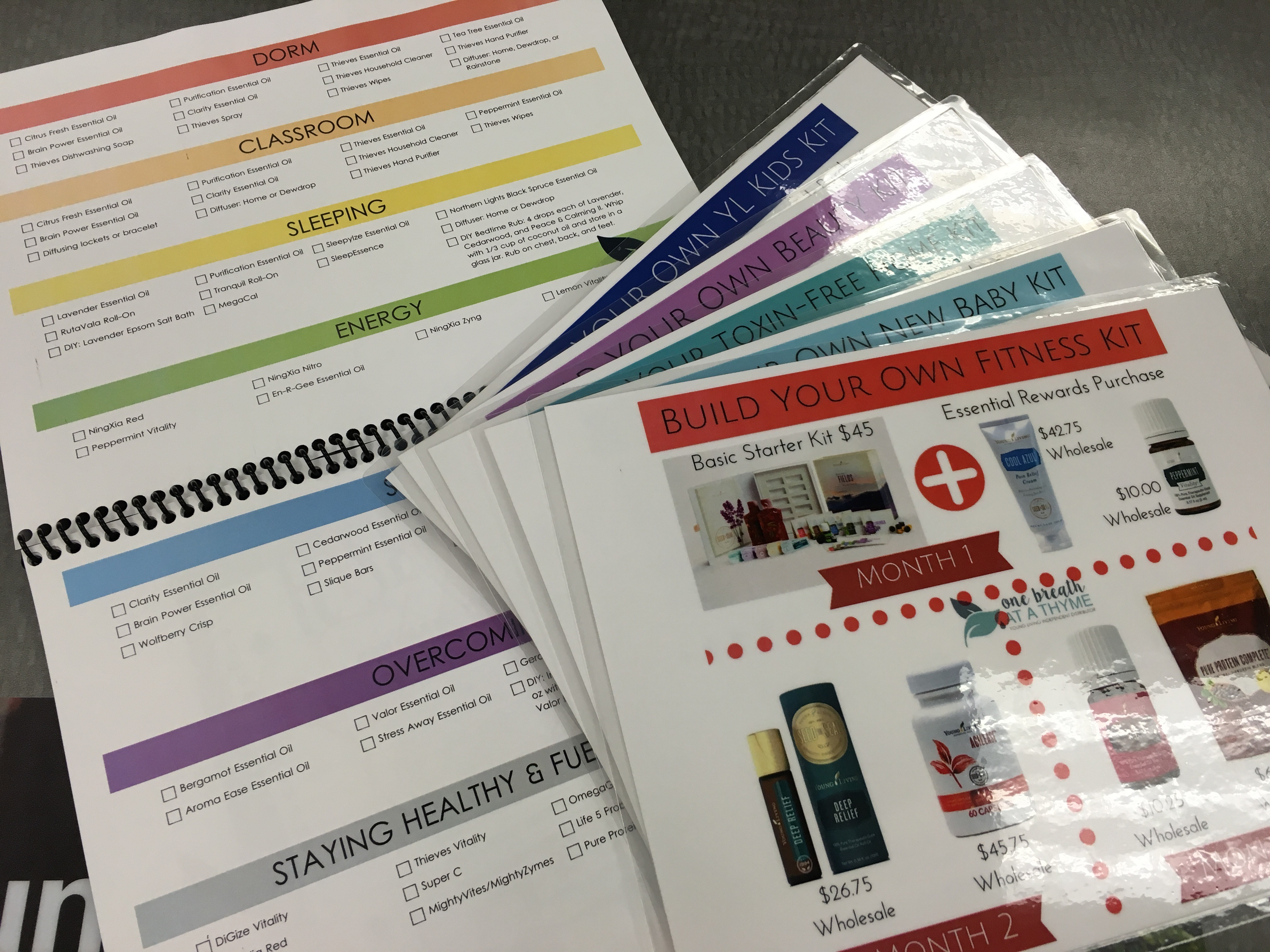 Book and Build Your Own Kits - Back to School In Person Class