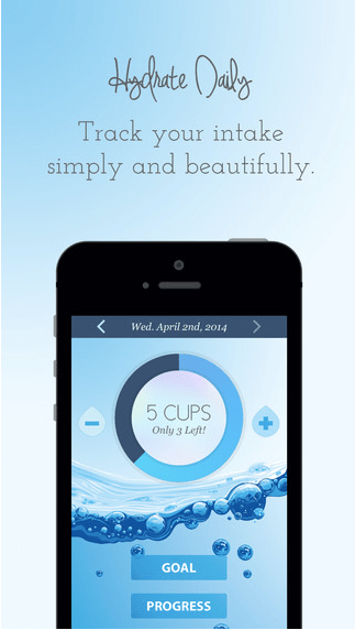 Hydrate Daily App