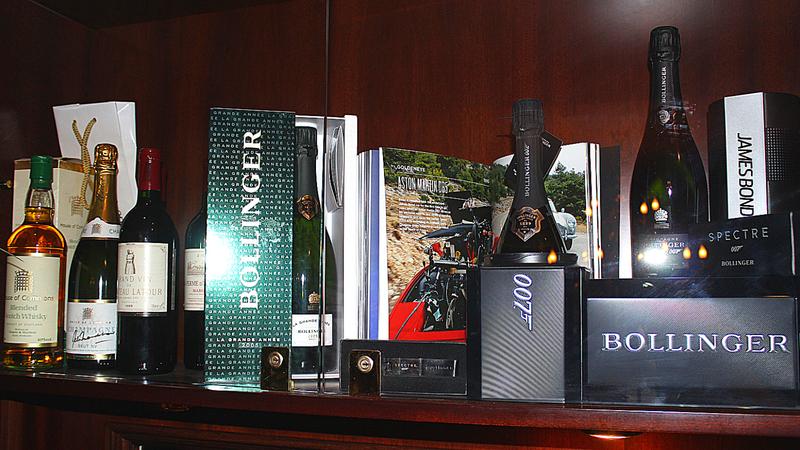 Bollinger champagne selection