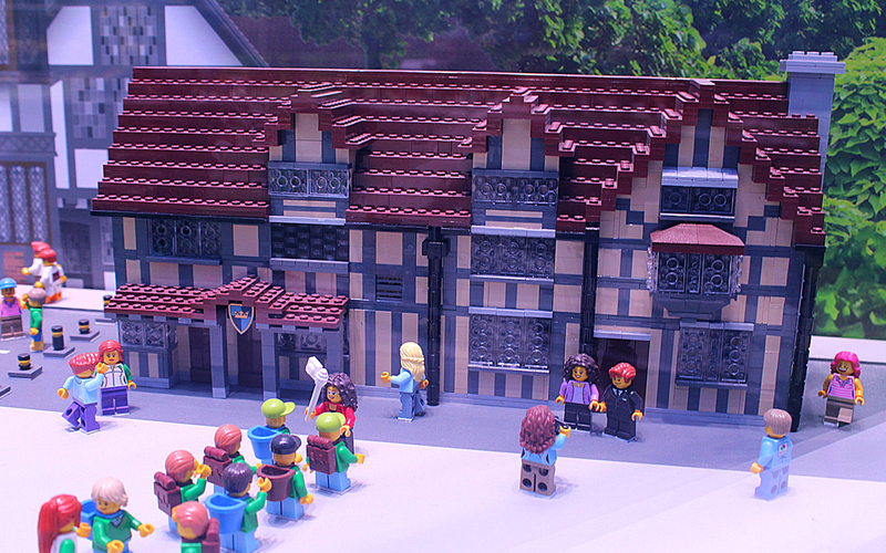 Lego Shakespeare's Birthplace