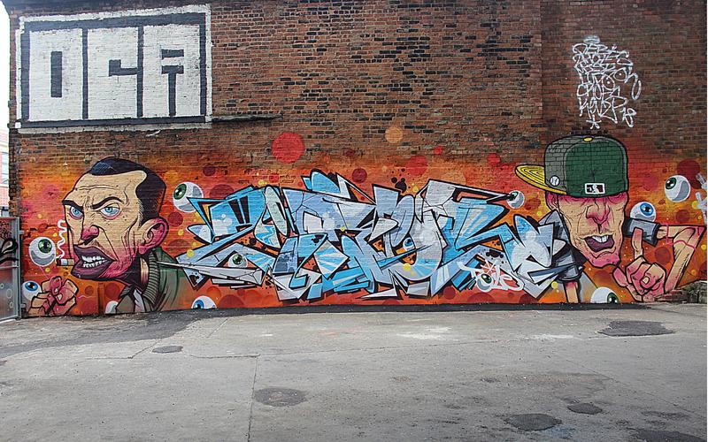 Gent 48 and Ziner Graffiti