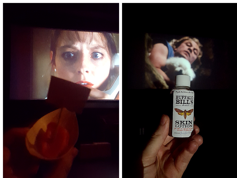 silence of the lambs scenes with related food