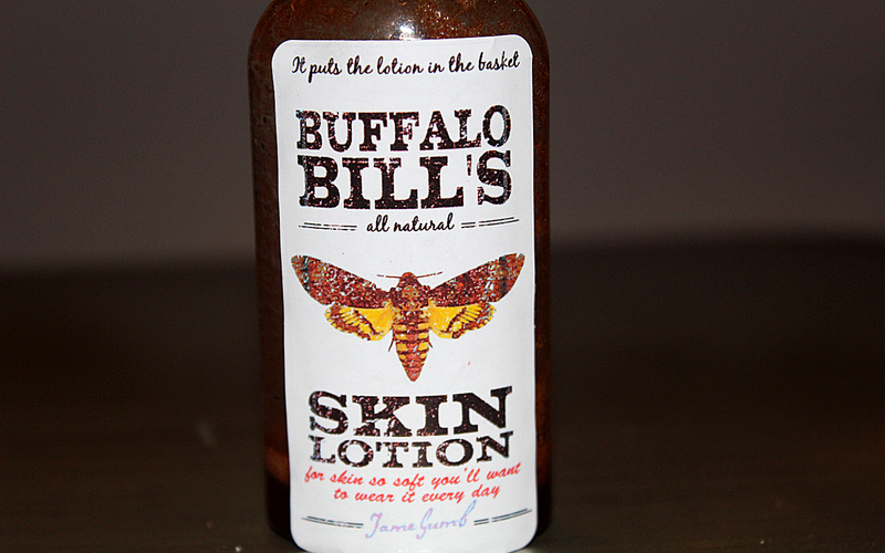 Buffalo bill's skin lotion