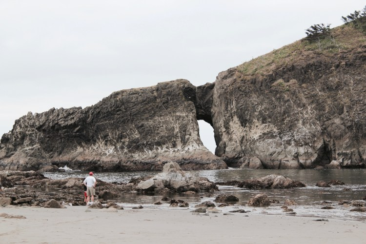 First Beach Rock Formation | One Chel of an Adventure