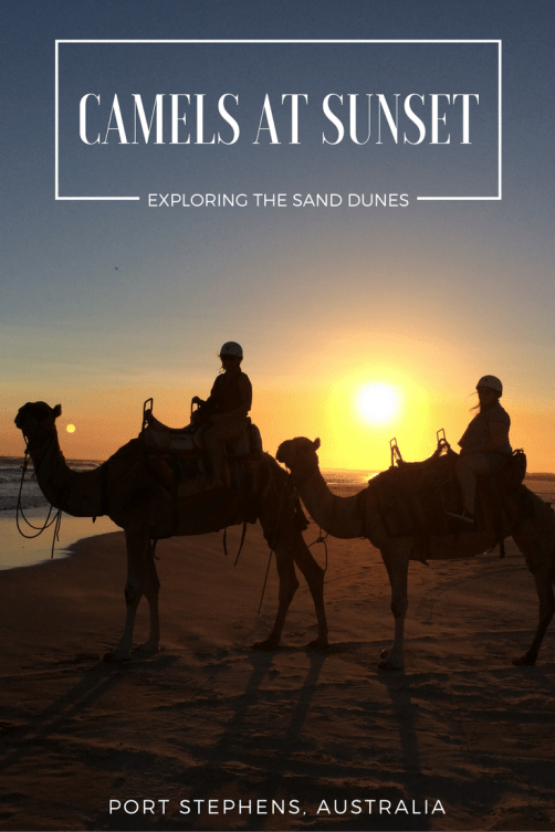AUSTRALIA-CAMEL-RIDE