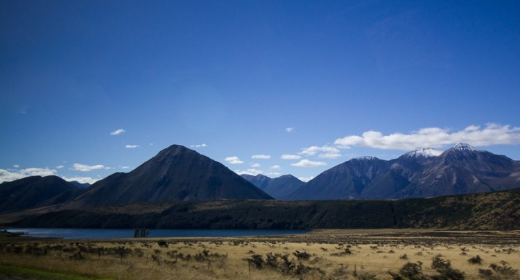 Landscapes from New Zealand's South Island