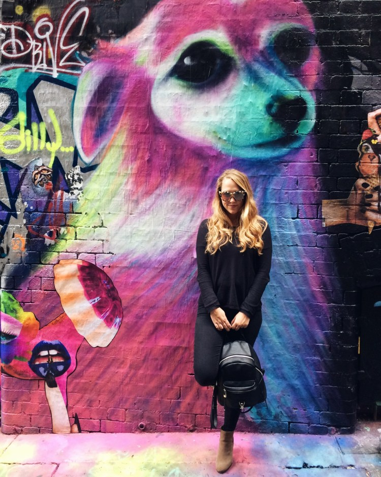 48 Hours in Melbourne - Hosier Lane