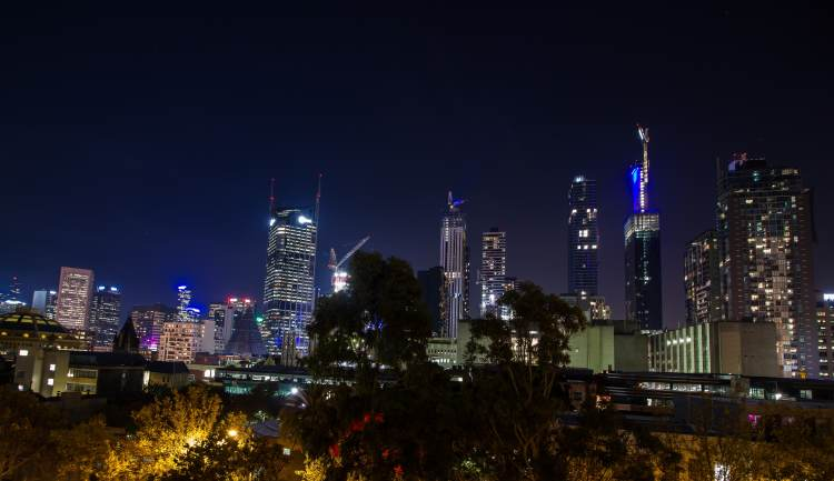48 Hours in Melbourne: Melbourne skyline at night