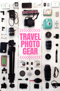 My Travel Photo Gear: Cameras & Accessories