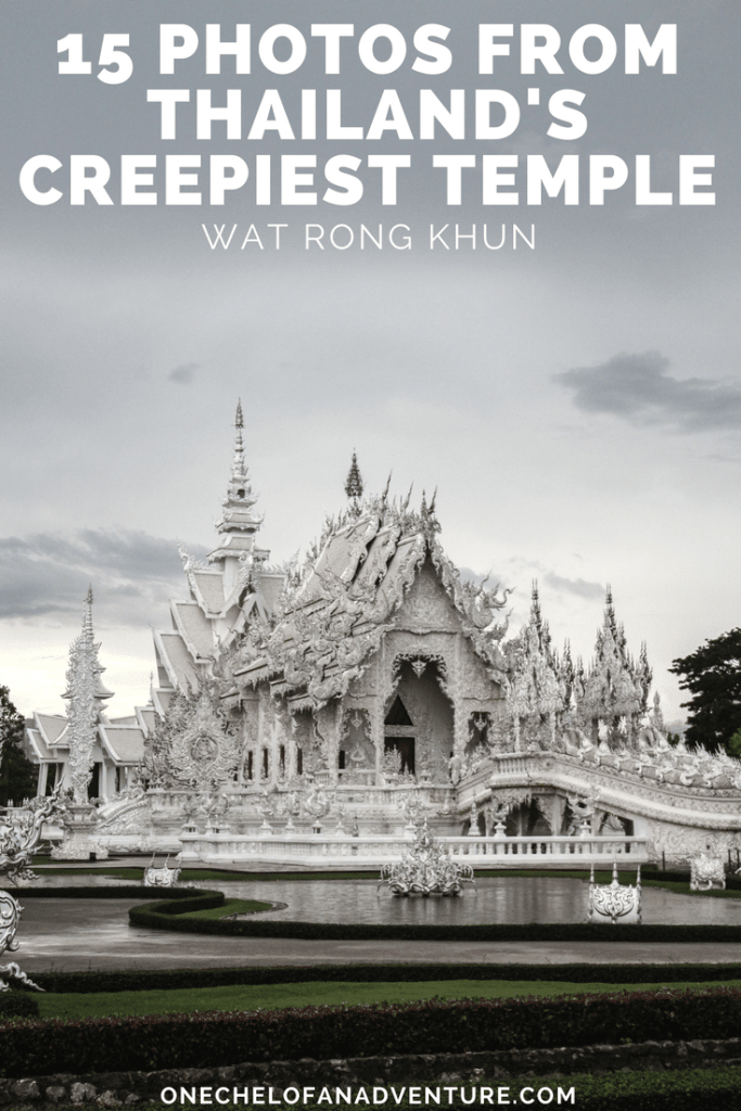 15 Photos from Thailand's Creepiest Temple: The White Temple