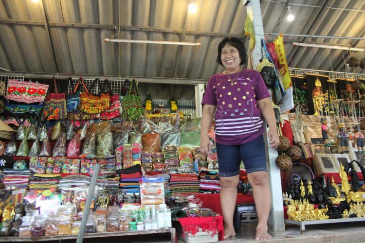 Bangkok Floating Markets stall