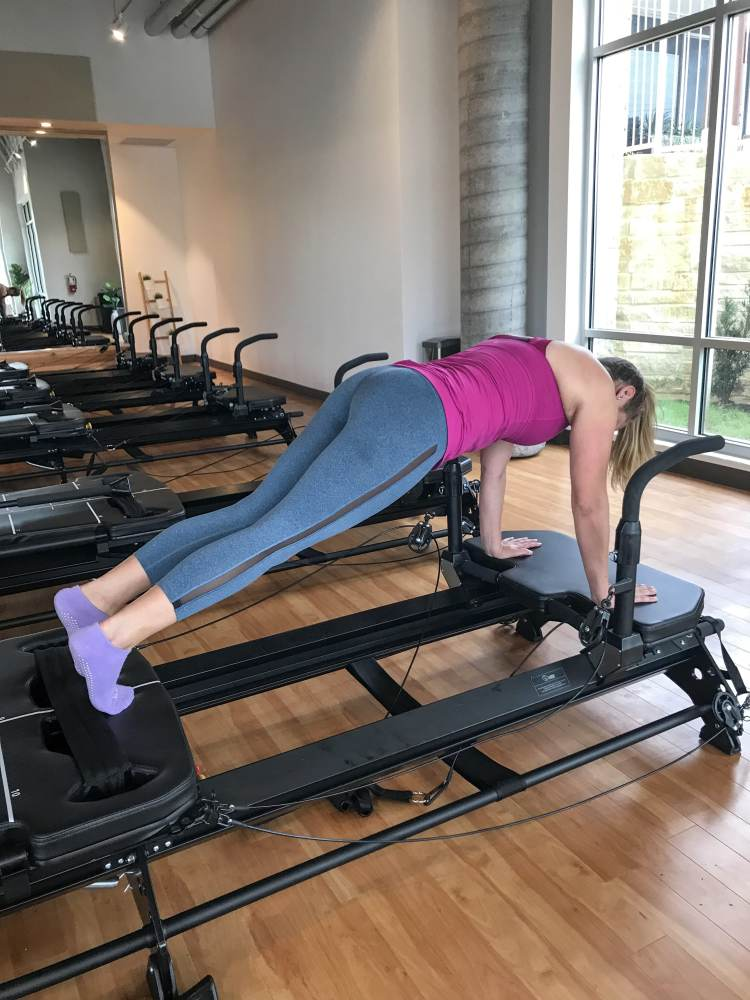 Core strength with Pilates